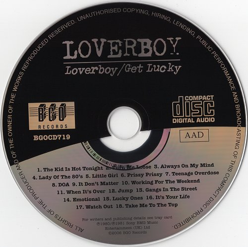 Loverboy - Loverboy + Get Lucky (2006)