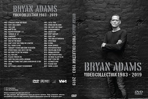 Bryan Adams - Video Collection 1983-2019 (2019)