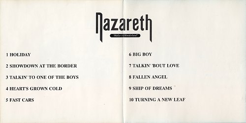 Nazareth – Malice In Wonderland (1980/1990) [Not On Label - none, Russia]