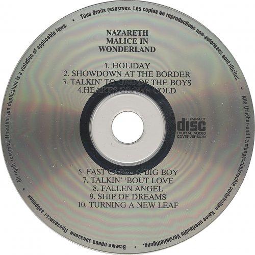 Nazareth – Malice In Wonderland (1980/1990)