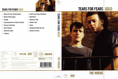 Tears For Fears - Gold: The Videos (2007)