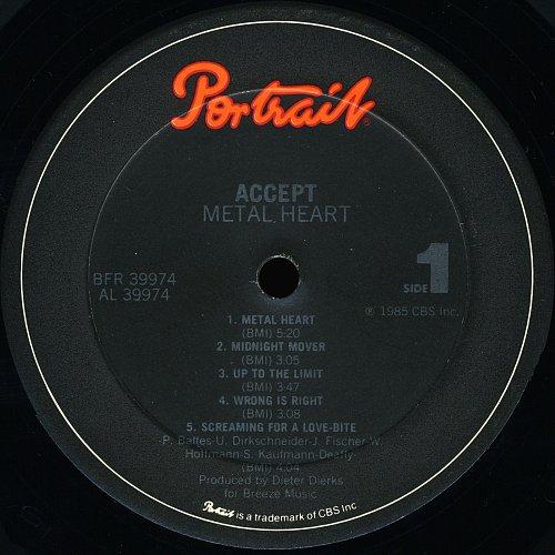 Accept - Metal Heart (1985)