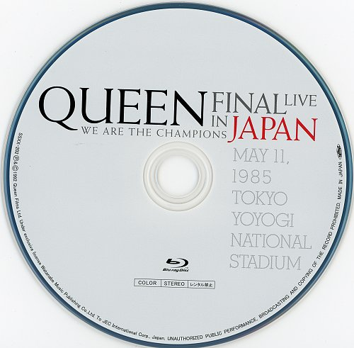Queen - We Are The Champions: Final Live In Japan (2019)