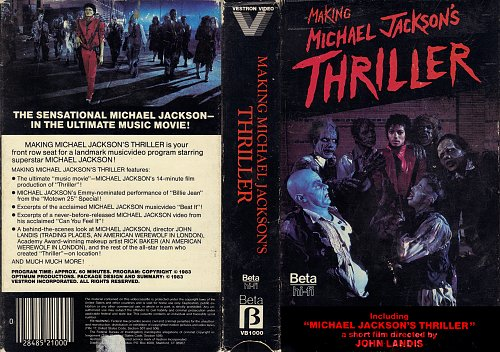 Michael Jackson - Making Michael Jackson's Thriller (1983)