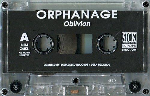 Orphanage - Oblivion (1995 DSFA Records, Displeased Records, Sick Records Europe, EMC, Poland/EU)