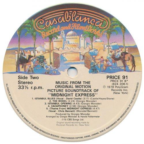 OST - Midnight Express (1978)