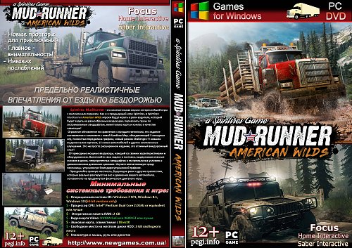 Spintires: MudRunner: AMERICAN WILDS