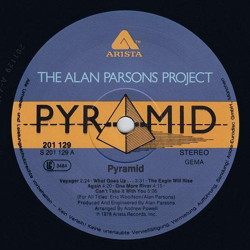 Alan Parsons Project - Pyramid (1978)