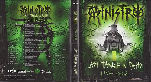 Ministry - Last Tangle In Paris. Live 2012 (2014)