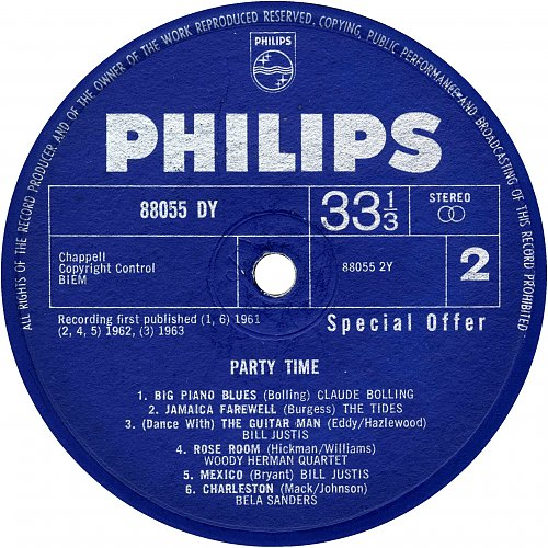 Party Time, Special Offer (1965)
