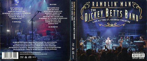 The Dickey Betts Band - Ramblin' Man. Live At The St. George Theatre (2019)