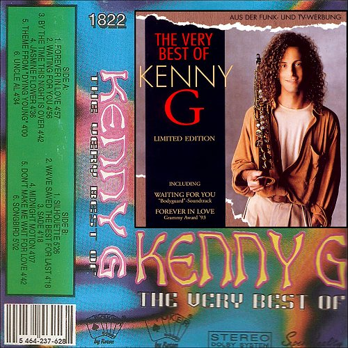 Kenny G - The Very Best Of Kenny G (1994 Poker Sound By Roton, Romania)