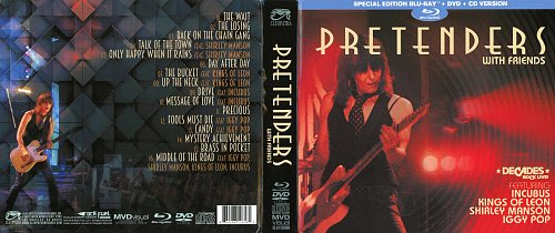 Pretenders - With Friends featuring Iggy Pop, Incubus, Kings of Leon and Shirley Manson (2019)