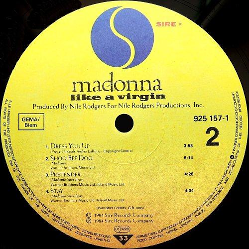 Madonna - Like A Virgin (1984)