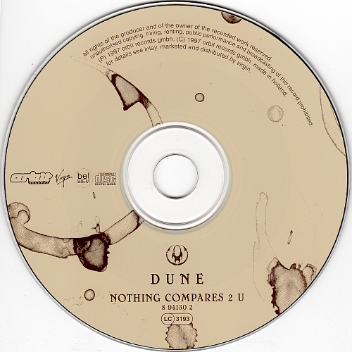 Dune - Nothing Compares 2 U (1997, CD-Maxi)