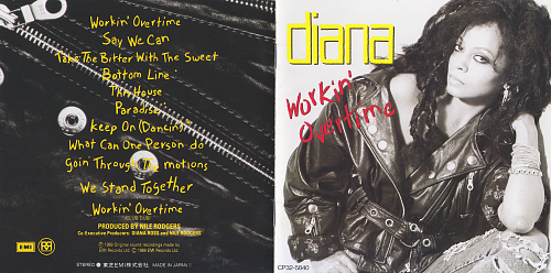 Diana Ross - Workin' Overtime (1989)