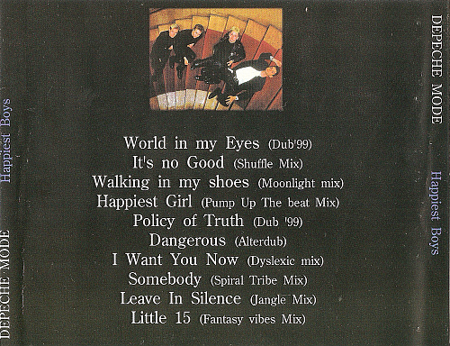 Depeche Mode - Happiest Boys (1999)