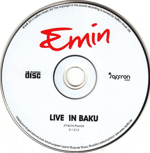 Emin (Эмин Агаларов) - Live in Baku (2014)