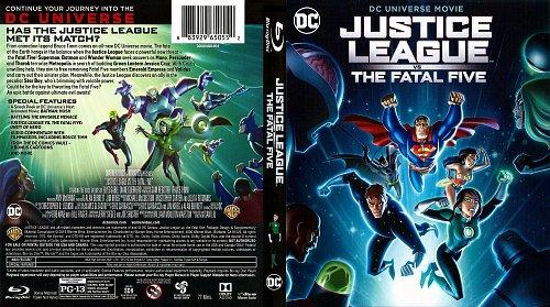 Лига справедливости против Смертоносной пятёрки / Justice League vs. the Fatal Five (2019)
