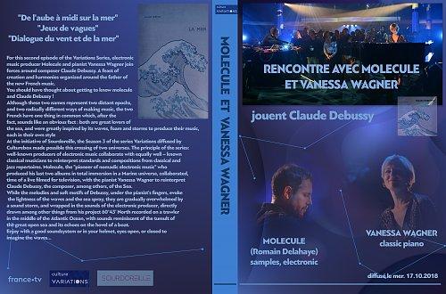 Molecule & Vanessa Wagner - jouent Claude Debussy (2018)