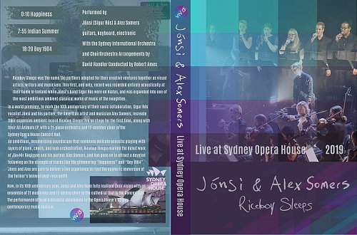 Jonsi & Alex Somers - Riceboy Sleeps Live at Sydney Opera House (2019)