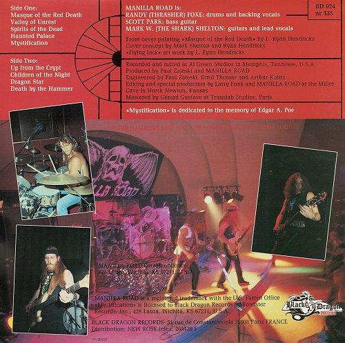 Manilla Road - Mystification (1987)