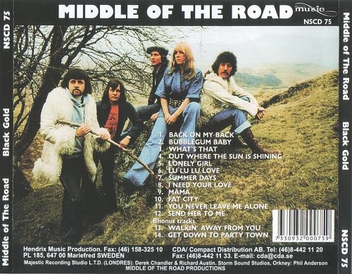 Middle Of The Road - Black Gold (1976)