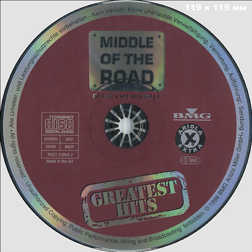 Middle Of The Road - Greatest Hits (1998)