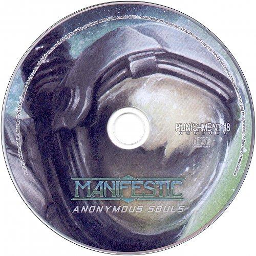 Manifestic - Anonymous Souls (2019 Punispment 18 Records P18R 145, Italy/EU)