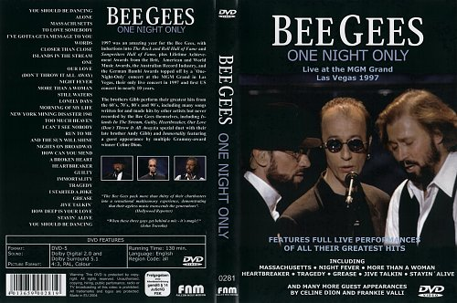 Bee Gees ‎– One Night Only (1997)