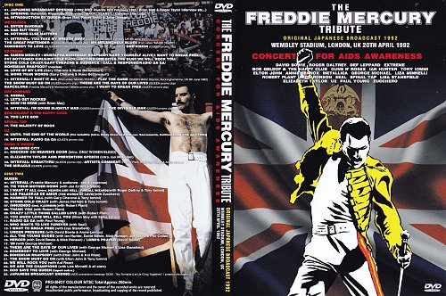 Freddie Mercury - Tribute. Japanese Broadcast (1992)