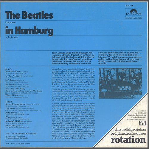 Beatles - The Beatles In Hamburg (1968)