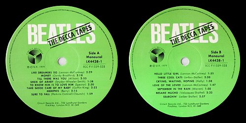 Beatles - The Decca Tapes (1979)