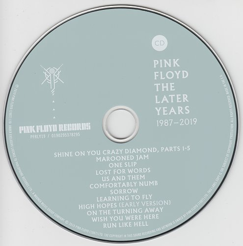 Pink Floyd - The Later Years 1987-2019 (2019)