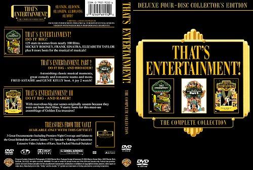 Вот это развлечение! Части 1,2,3 / That's Entertainment! Part I, II, III (1974, 1976, 1994)