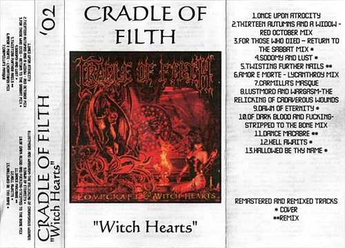 Cradle Of Filth - Witch Hearts (2002 Russia)