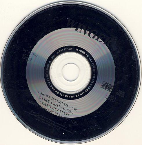WINGER - Down Incognito (EP) 1993