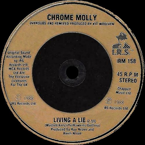 Chrome Molly - Thanx For The Angst (1988)