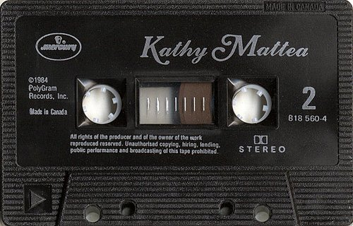 Kathy Mattea - Kathy Mattea (1984 PolyGram Records, Mercury 818 560-4, Canada)
