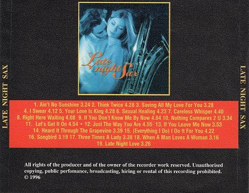 Mornington Lockett - Late Night Sax: After Dark (1996)