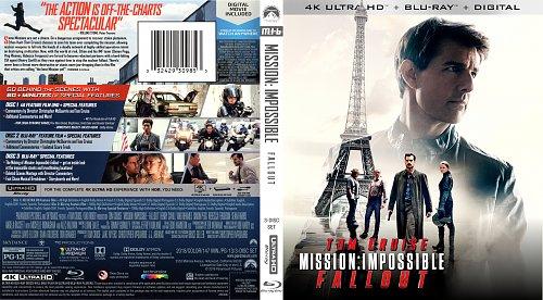 Миссия невыполнима: Последствия / Mission: Impossible - Fallout (2018)