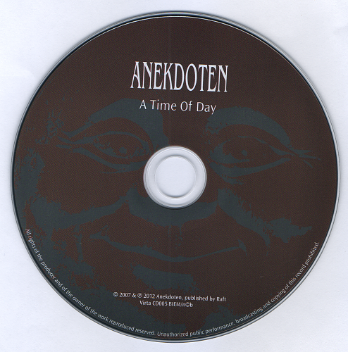 Anekdoten - A Time Of Day (2007)