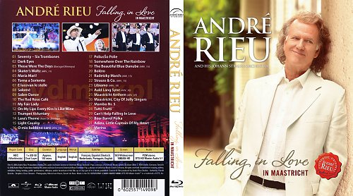 Andre Rieu - Falling in Love. In Maastricht (2016)