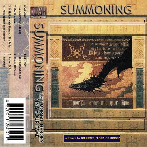 Summoning - Let Mortal Heroes Sing Your Fame (2001 Napalm Records; Mosh Records, Moon Rec., Ukraine)