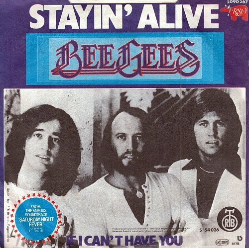 Bee Gees - Stayin' Alive (1978)