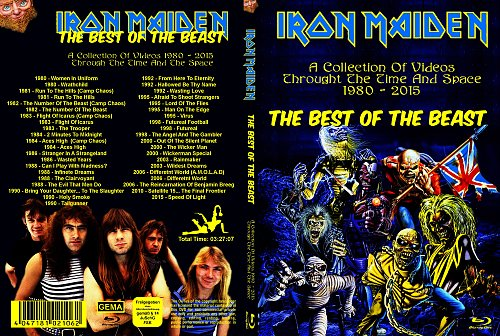 Iron Maiden - The Best Video Collection (2020)