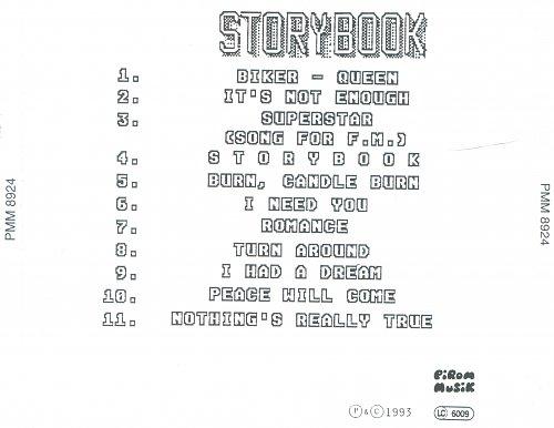 Love, Heart & Soul - Storybook (1993)