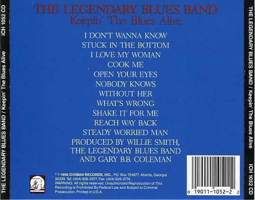 Legendary Blues Band, The - Keepin' The Blues Alive (1990)