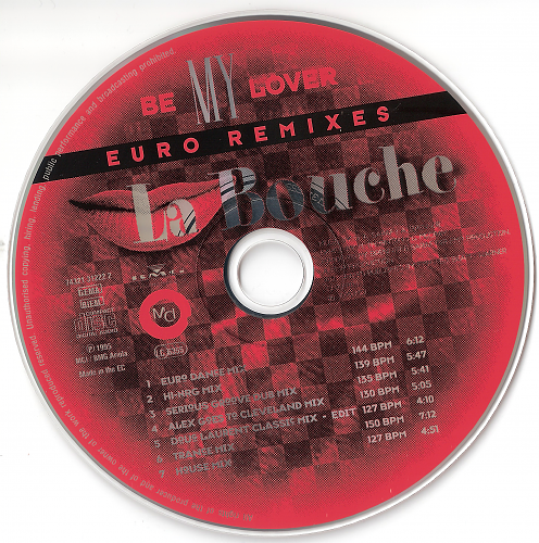 La Bouche - Be My Lover (1995, CD-Maxi)