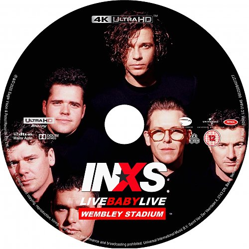 INXS - Live Baby Live At Wembley Stadium (1991 / 2020)